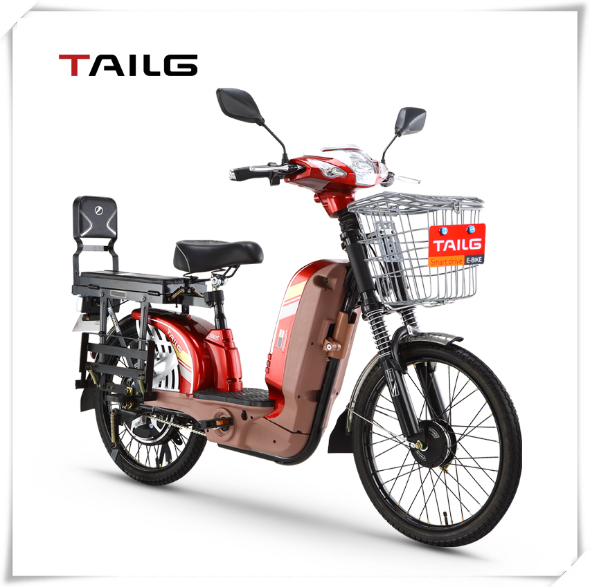 loading electric scooter
